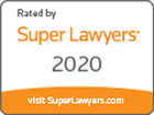 Rated by Super Lawyers 2020